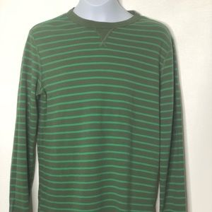 Hanna Andersson boys striped long sleeve top